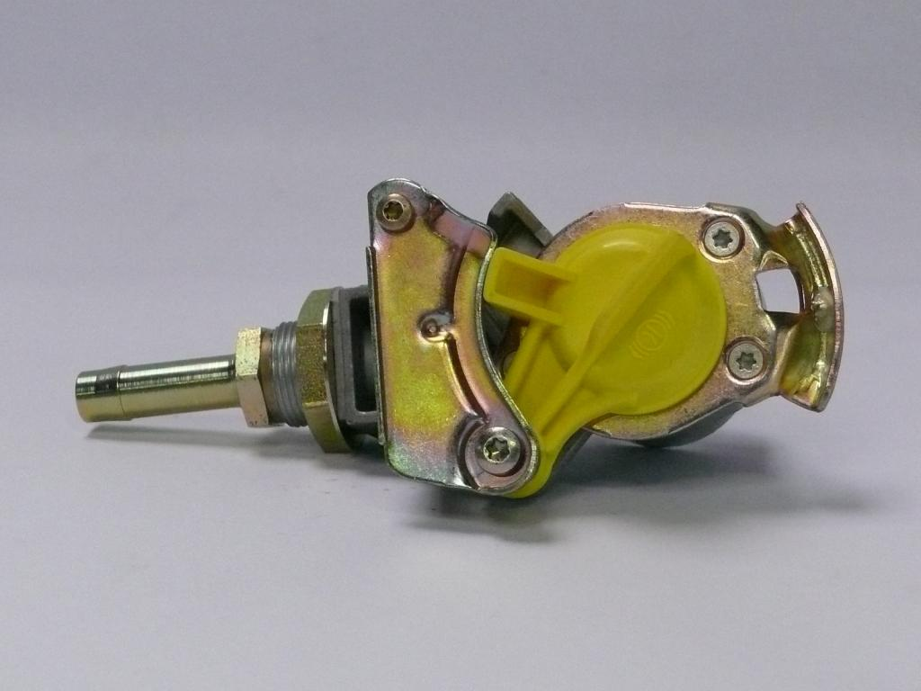 Brantner Kipper und Anhänger - DL Kupplungskopf Bremsl. gelb vorne mit Filter