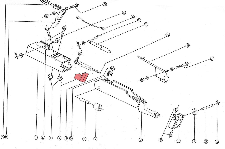 Brantner Kipper und Anhänger - Anzugsdämpfer 50 x 18(vorm.55) mm-Rinner (9)