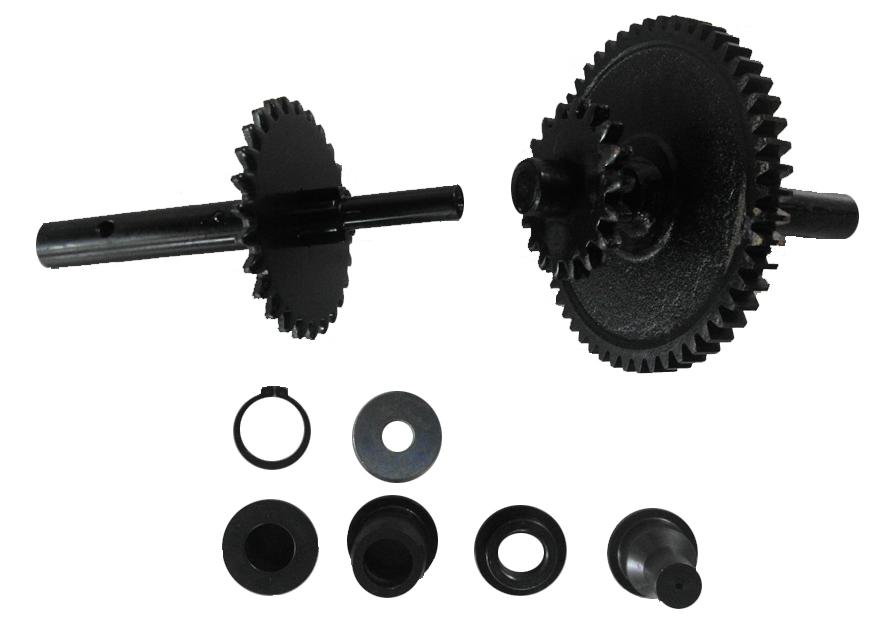 Brantner Kipper und Anhänger - Getriebesatz für Sattelstützwinde KRA 750