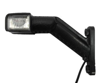 Brantner Kipper und Anhänger - Superpoint IV 1,0m /DC/rechts (Umrißleuchte)