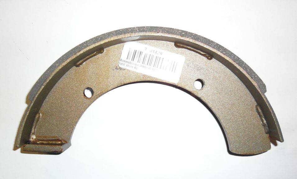Brantner Kipper und Anhänger - Bremsbacke 300x60 RM1/H Stahl starr Ri