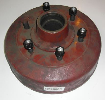 Brantner Kipper und Anhänger - Bremstrommel 350x60, 6L Ki