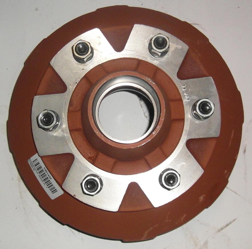 Brantner Kipper und Anhänger - Bremstrommel 350x60 6L, Typ 6000 Ri
