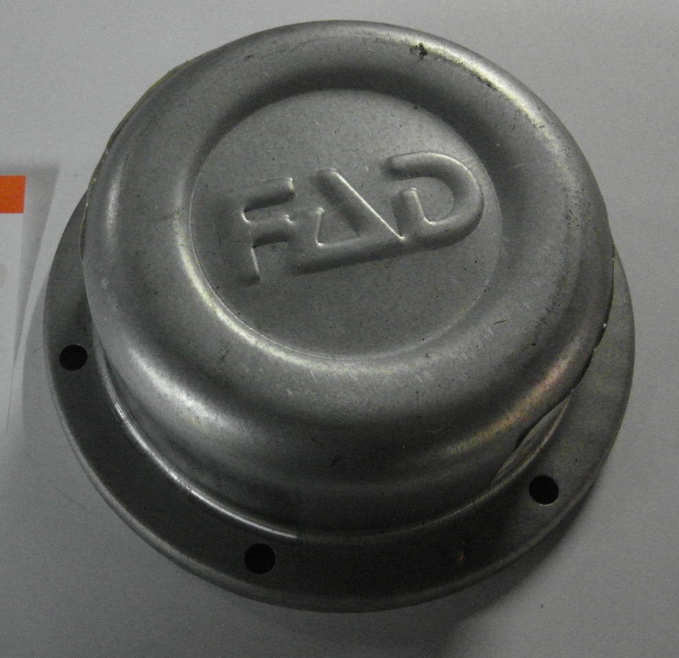 Brantner Kipper und Anhänger - Radkappe Ø148 mm zum verschrauben, FAD