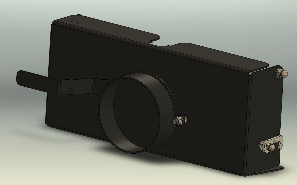 Brantner Kipper und Anhänger - Auslaufgosse mit Feindosierung mit Deckel und