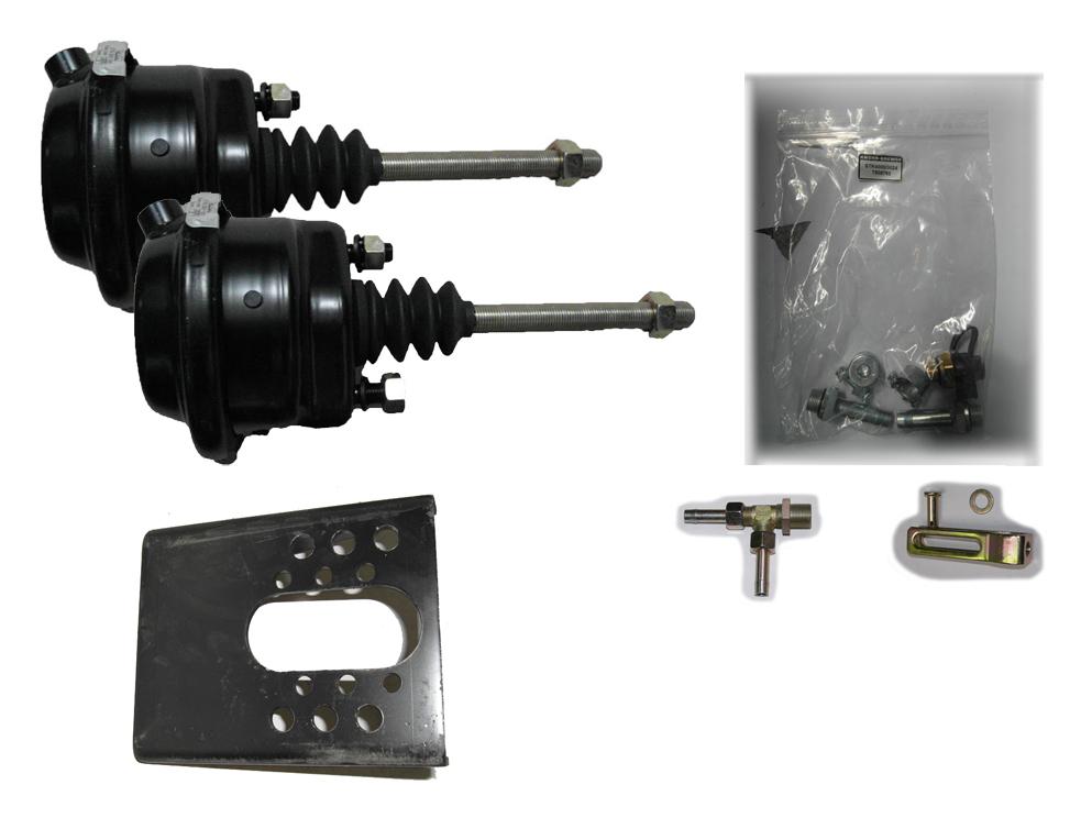 Brantner Kipper und Anhänger - Membranzylinder Einbausatz mit 2x12'' Zylinder