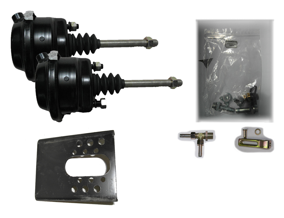 Brantner Kipper und Anhänger - Membranzylinder Einbausatz mit 2x20'' Zylinder