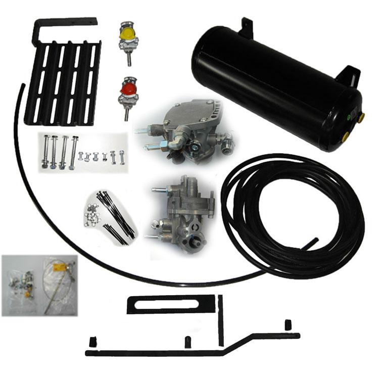 Brantner Kipper und Anhänger - DL-Bremsanlage Basissatz mit ALB - Regler
