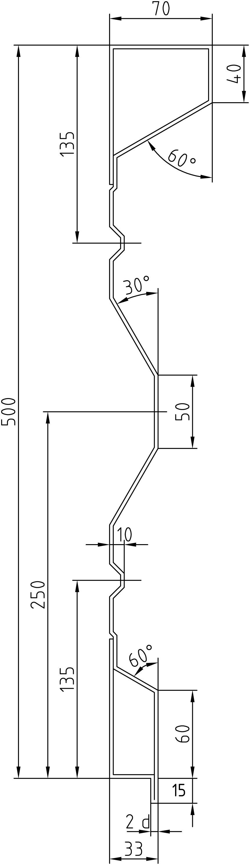 Brantner Kipper und Anhänger - 500x2x5000 sideboards with trailing edges