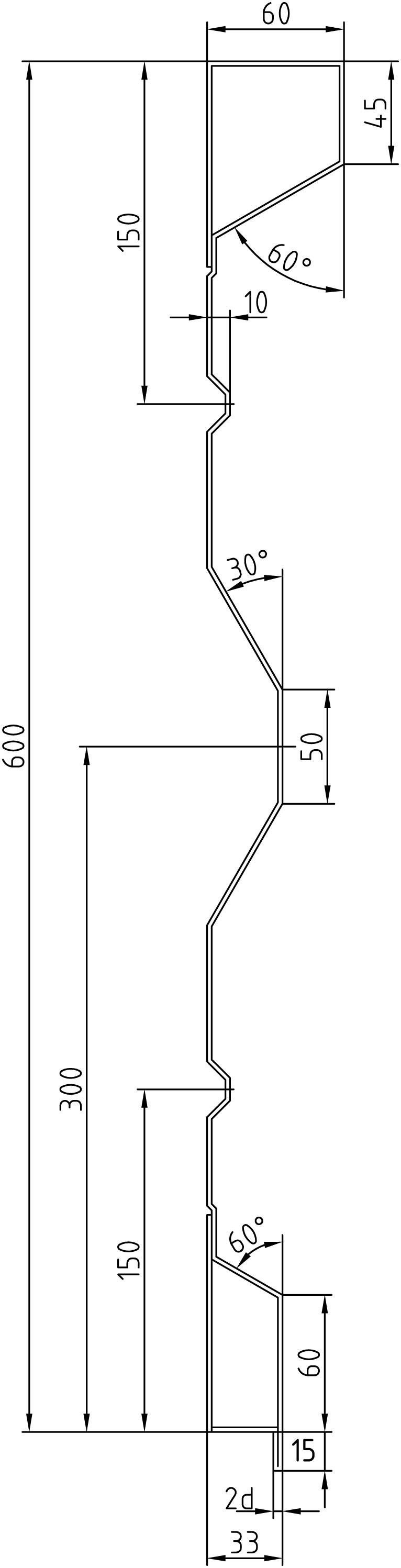 Brantner Kipper und Anhänger - 600x2,5x5035 sideboards with trailing edges