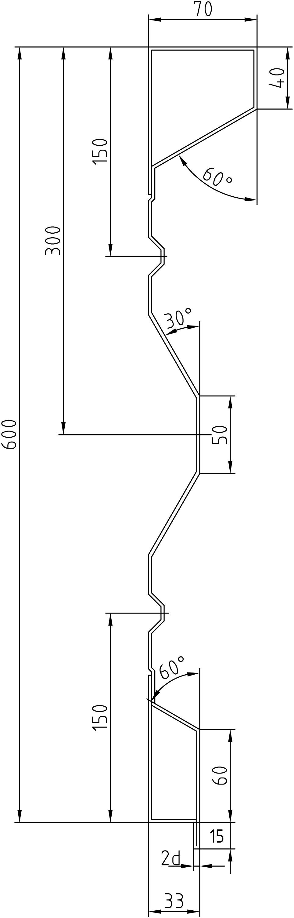 Brantner Kipper und Anhänger - 600x2x4469 sideboards with trailing edges
