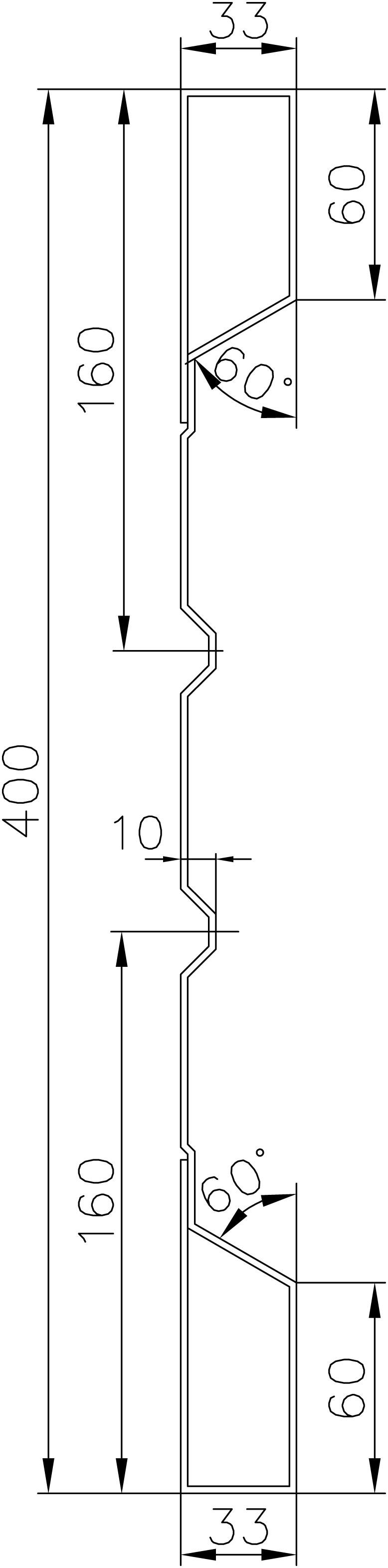 Brantner Kipper und Anhänger - SmE HVKT 400x2 1820 Winkel 40/20/5