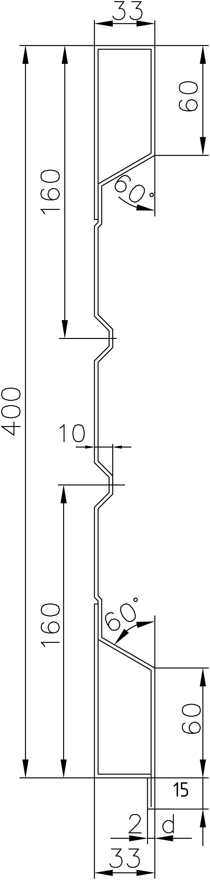 Brantner Kipper und Anhänger - 400x2x2375 Rück BW samt EL ohne Schuber