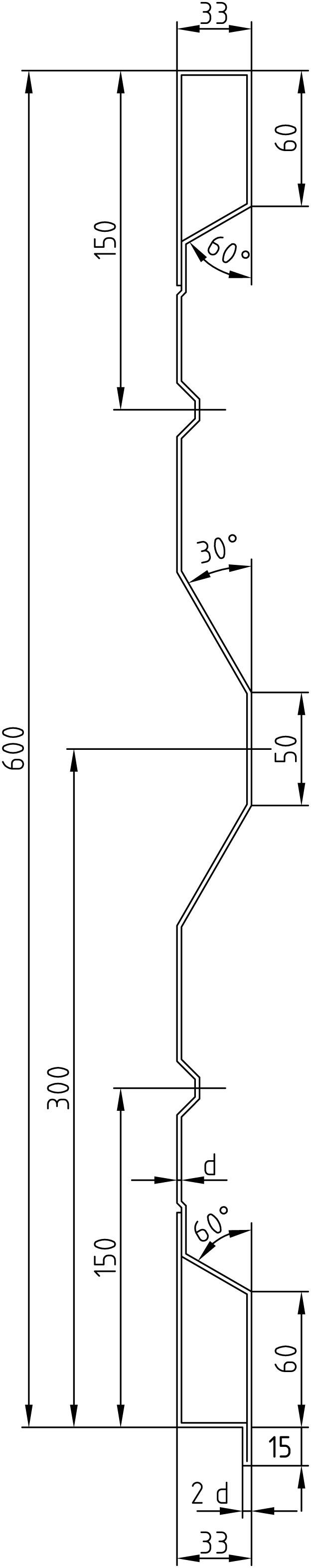 Brantner Kipper und Anhänger - 600x2x2375 Rück BW samt EL ohne Schuber