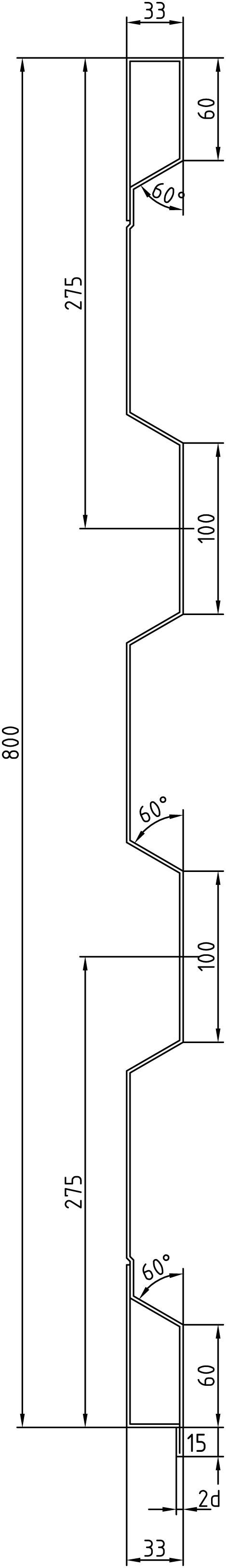 Brantner Kipper und Anhänger - 800x2x2375 Rück BW samt EL ohne Schuber