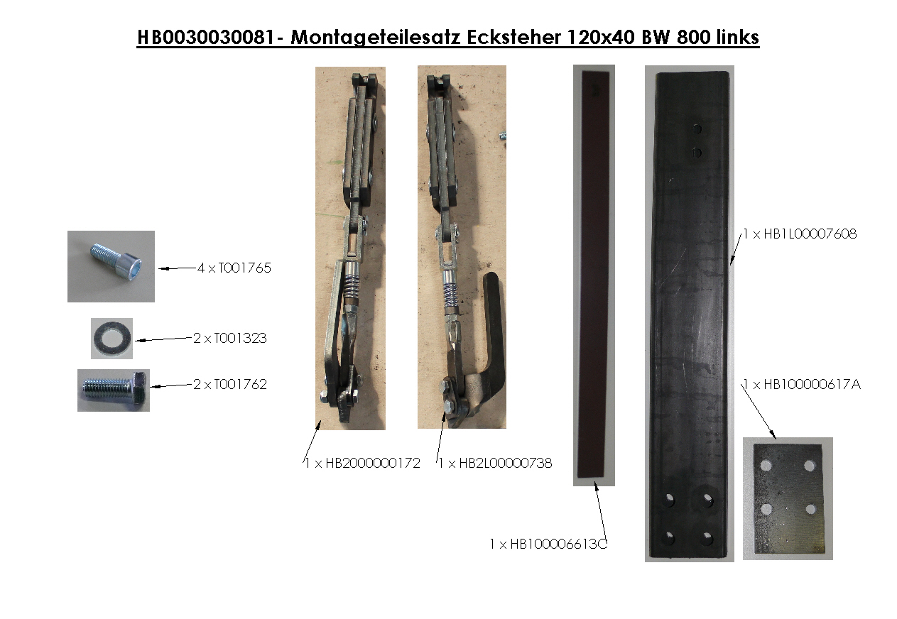 Brantner Kipper und Anhänger - sideboard accessories for threeside tipper with