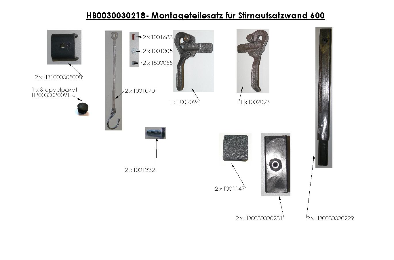 Brantner Kipper und Anhänger - accessories for attachment boards POWER TUBE