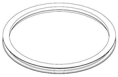Brantner Kipper und Anhänger - Kugellenkkranz 1050mm ohne Löcher