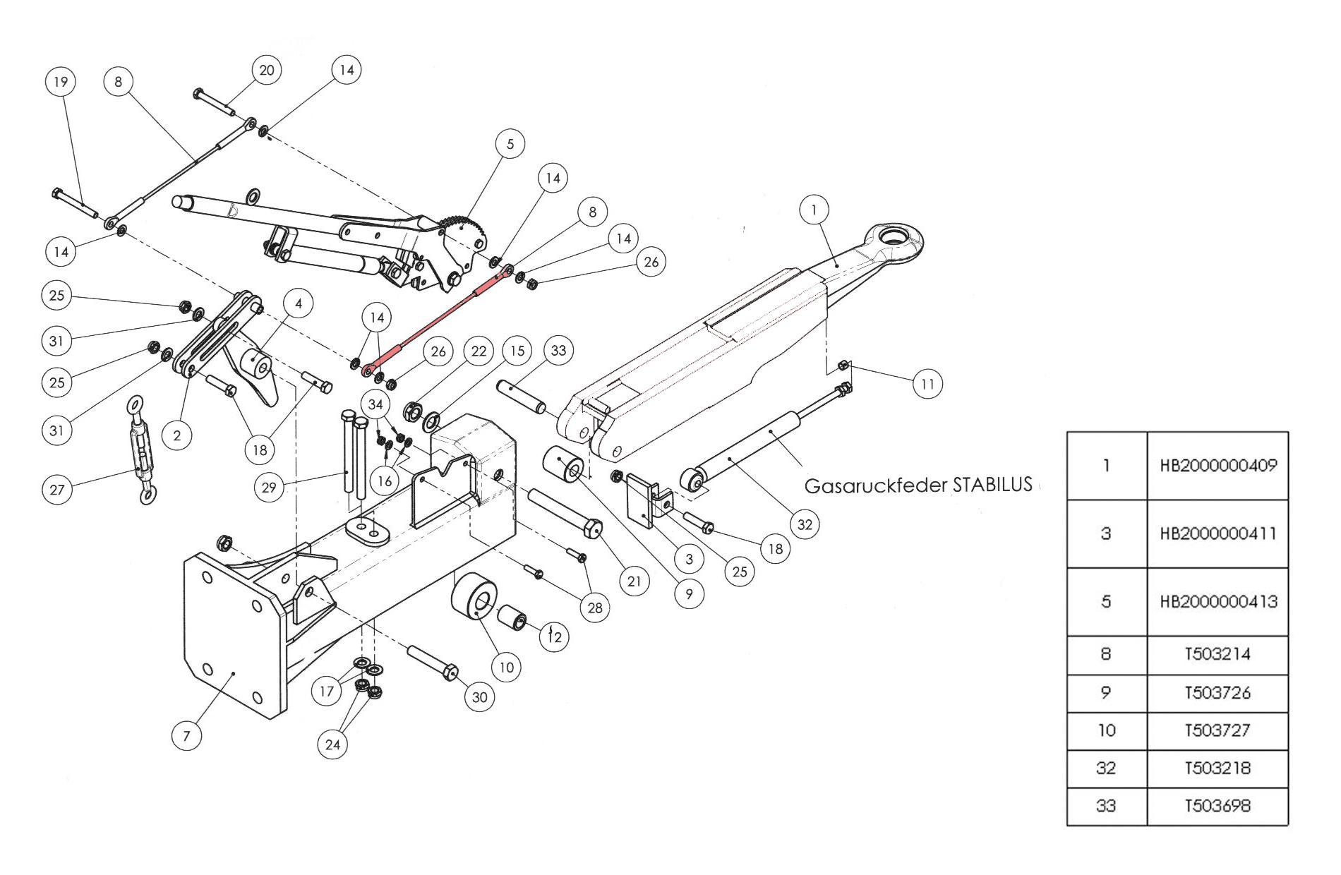 Brantner Kipper und Anhänger - Spannseil Ø 5,00 mm verzinkt - HB BAT (8)