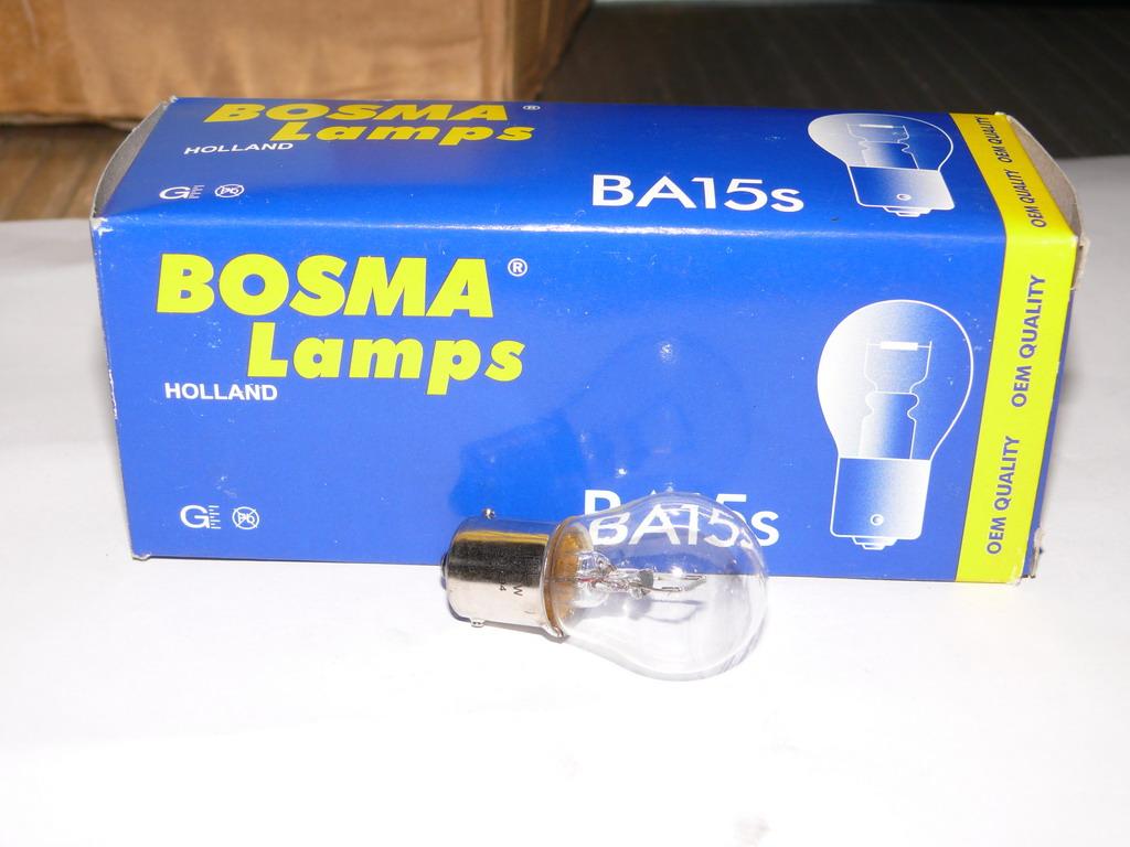 Brantner Kipper und Anhänger - Kugelbirne 24 Volt 21 Watt BA 15S