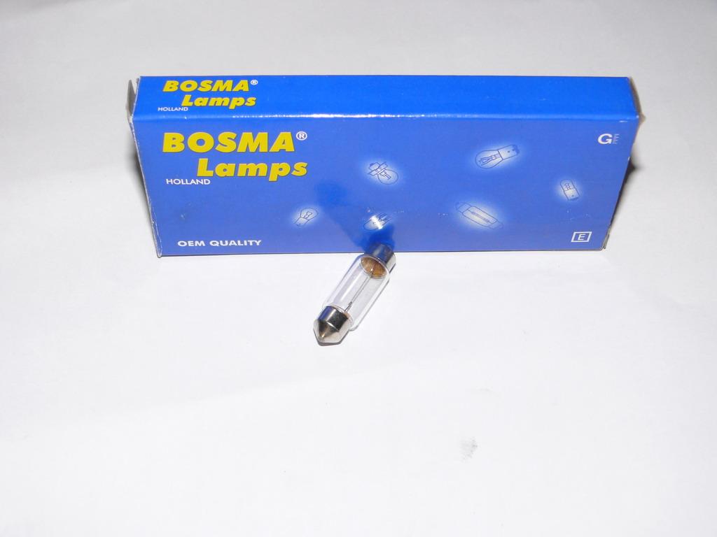 Brantner Kipper und Anhänger - Soffittenlampe 24 Volt 5 Watt 10 x 36 mm