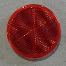 Brantner Kipper und Anhänger - Strahler (Blendlinse) rot Ø 60 mm, selbstklebend