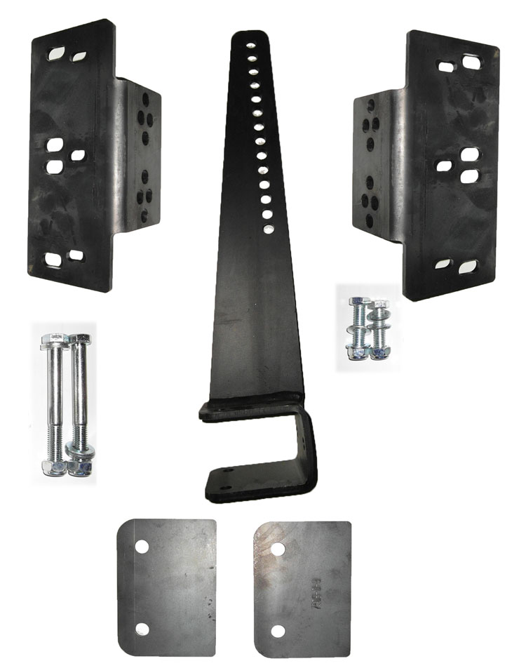 Brantner Kipper und Anhänger - set of piston-brake cylinder mounts for TA - axis