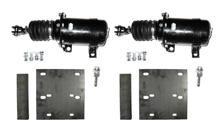 Brantner Kipper und Anhänger - set of piston brake cylinders 2x D80 cylinder