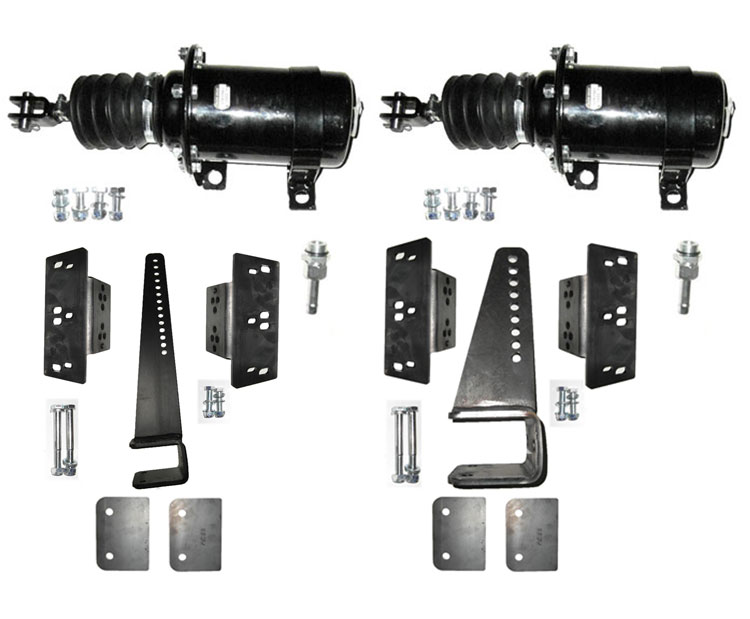 Brantner Kipper und Anhänger - Kolbenbremszylinder Einbausatz mit 2xD125 Zylinder