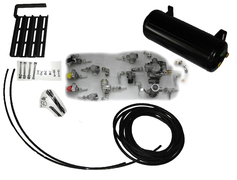 Brantner Kipper und Anhänger - air brake basic kit with lever, w/o. ALB