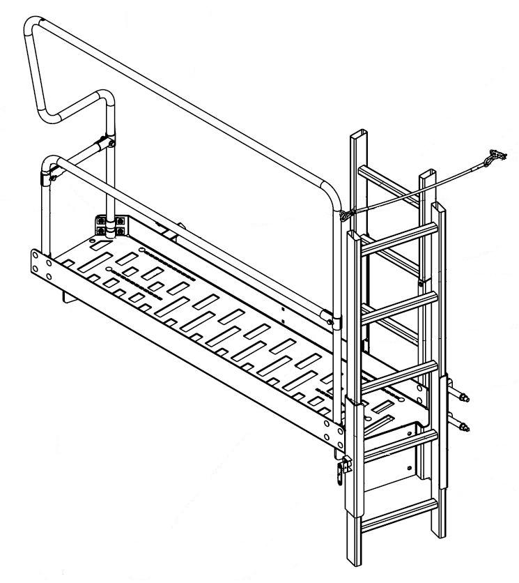 Brantner Kipper und Anhänger - Bedienplattform für E+TA-Farzeuge mit Aufbau