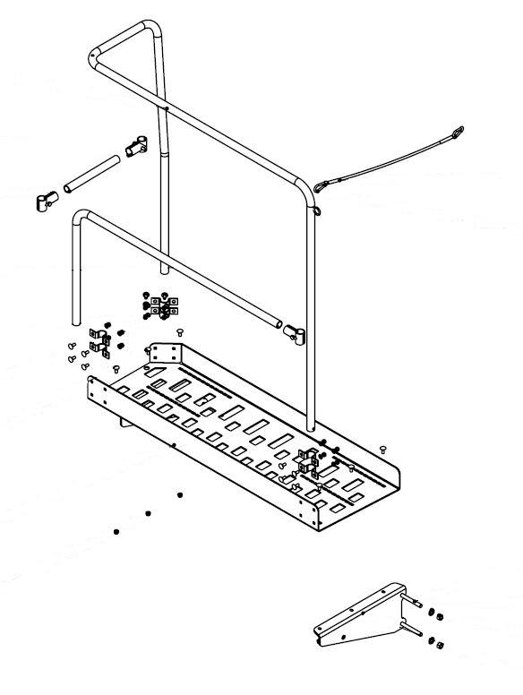 Brantner Kipper und Anhänger - Bedienplattform für Power-Tube