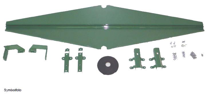 Brantner Kipper und Anhänger - Nachrüstsatz Aufsatzdreiecke 300 mm, schraubbar
