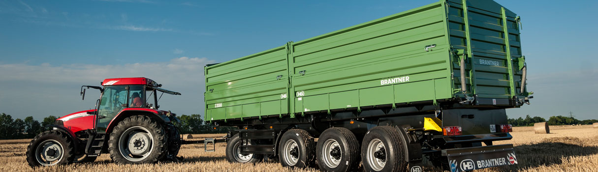 Brantner four-axle threesidetipper VD32080XXL.