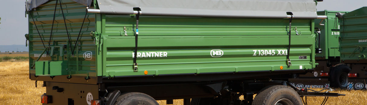 Brantner Brantner two-axle threesidetipper Z13045/2XXL.