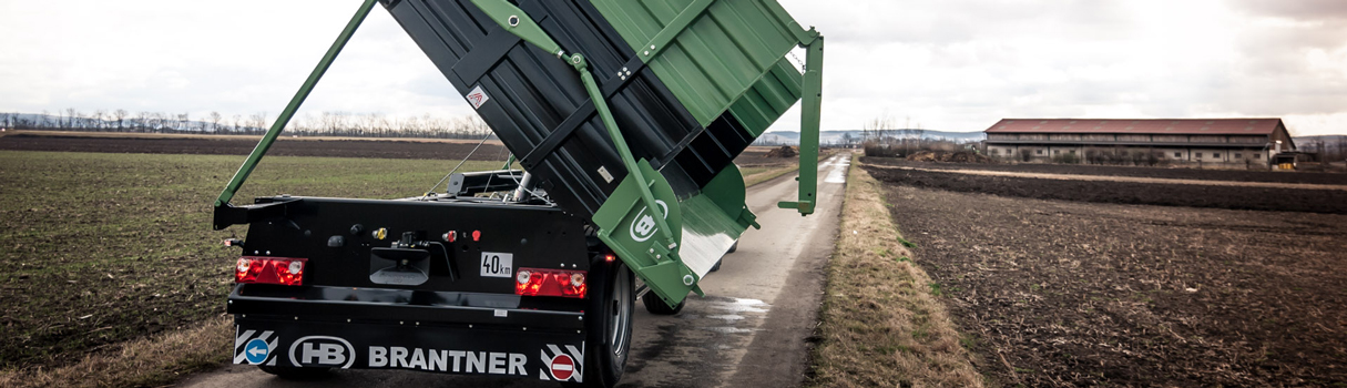 Brantner Two-axle twosidetipper ZZ 18050