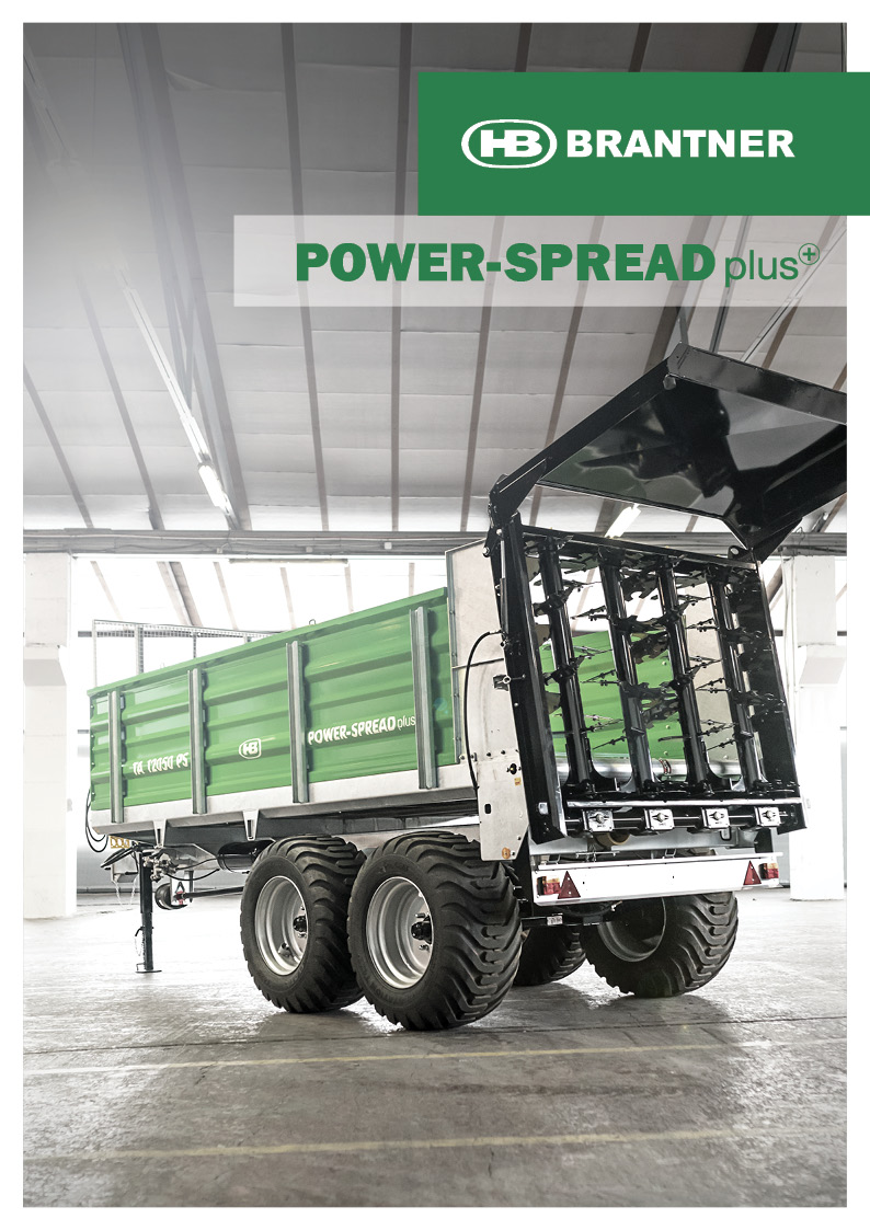 Brantner Streutechnik POWER-SPREAD plus+